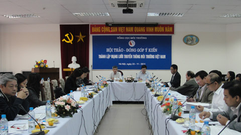 Plan for establishing the Vietnam Environmental Communication Network