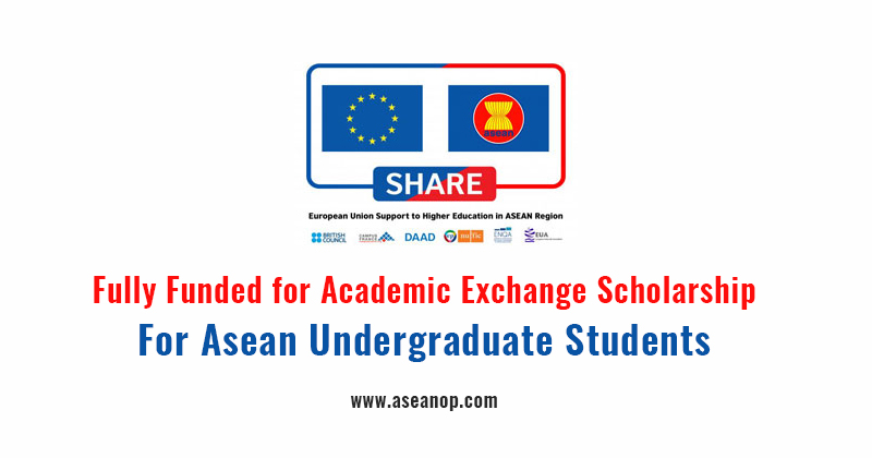 Apply Now for the Share Scholarship Exchange Program for ASEAN Students 2017